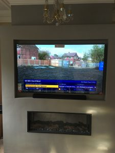Wall Mounted TV, Prestbury