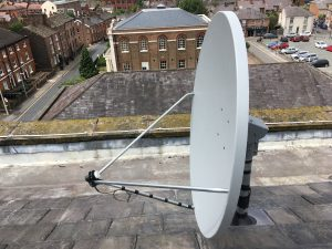 Satellite Dish Installation, Cinemac